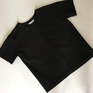 Everlane boxy scuba s/s sweatshirt